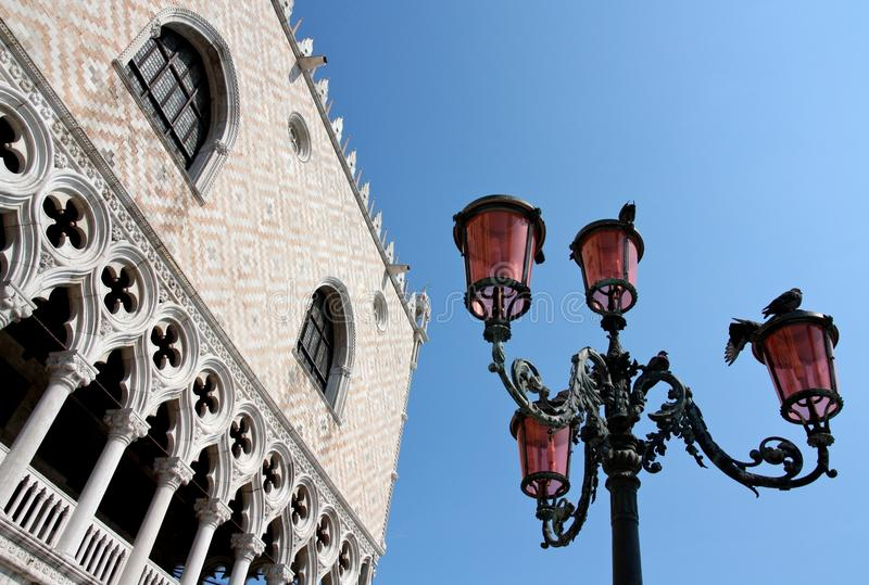 The Ducal Palace in Venice, Italy stock photography