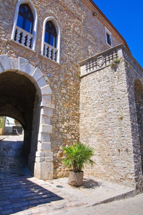 ducal slott Pietragalla Basilicata italy arkivfoto