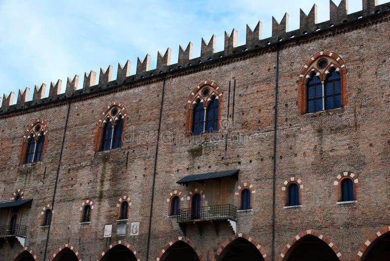 Ducale de Palazzo de Mantova images stock
