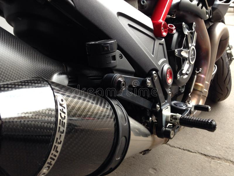 Ducati 1098 imagen de archivo