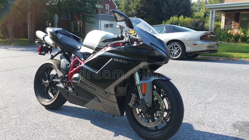 Ducati 848 imagem de stock royalty free