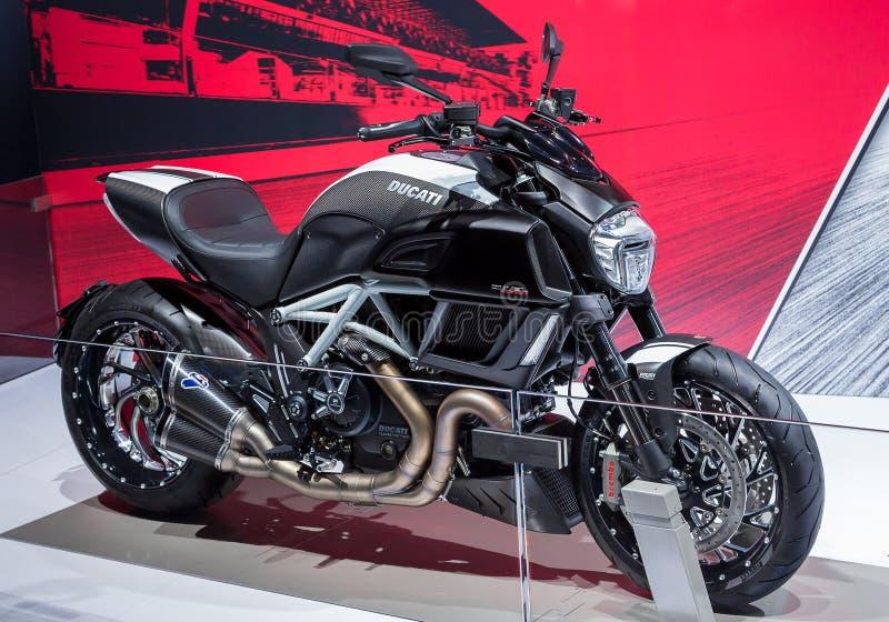 Ducati Diavel photos libres de droits