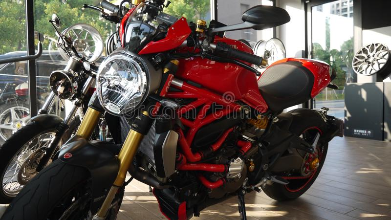 Ducati: Moto, MotoGP royalty free stock photos