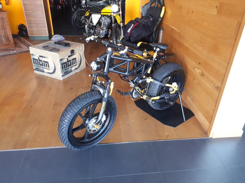 Ducati-Motorrad-Sport Superbike lizenzfreies stockbild