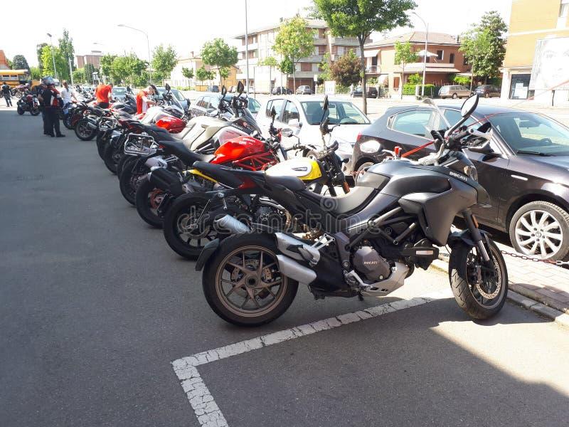 Ducati-Motorrad-Sport Superbike stockfoto