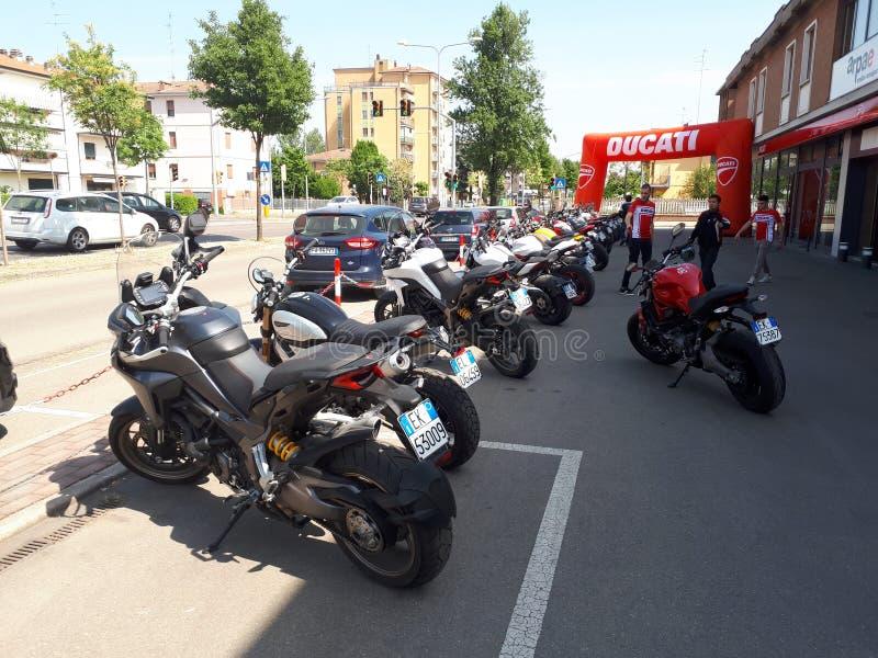 Ducati-Motorrad-Sport Superbike lizenzfreie stockbilder
