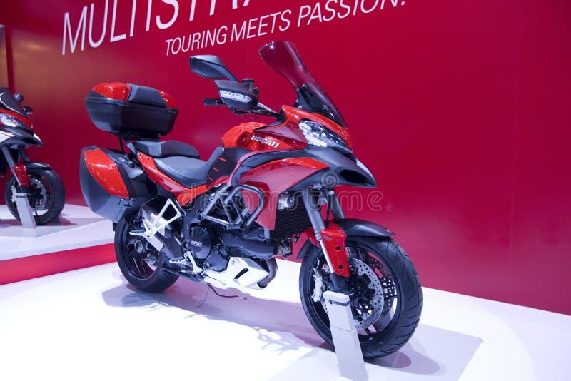 Ducati Multistrada royalty-vrije stock foto's