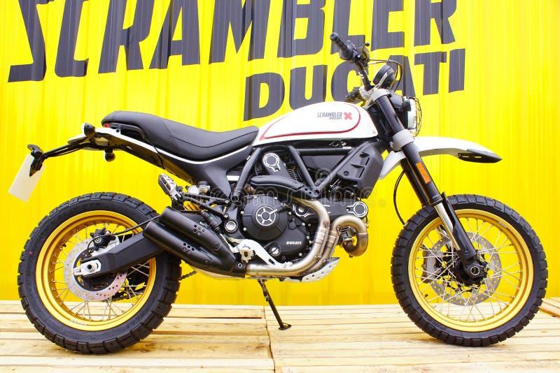 Ducati Scrambler X 400cc fotografia royalty free