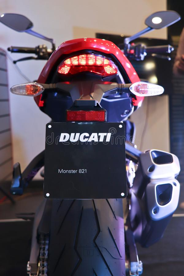 Ducatimonster 821 - India stock fotografie