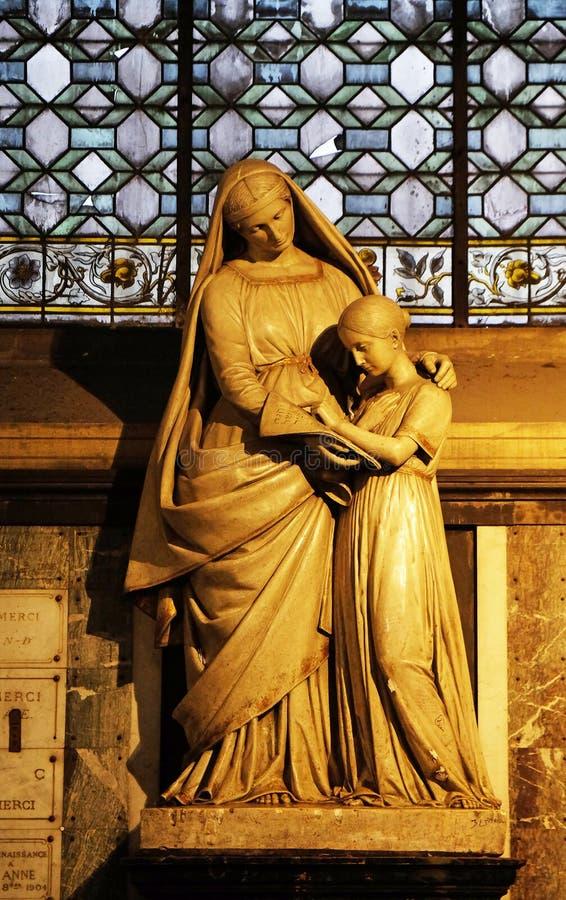 ?ducation de Vierge Marie photo libre de droits