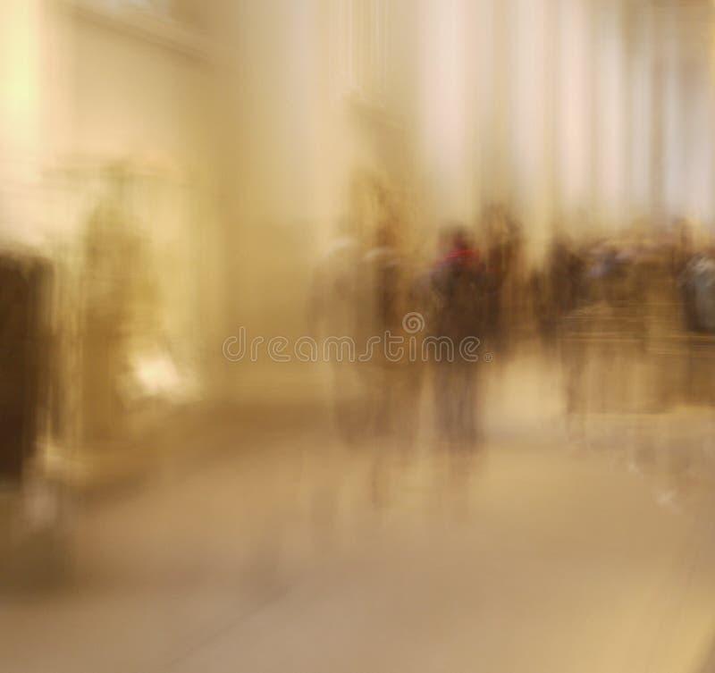 duchów zamazani ludzie obrazy stock