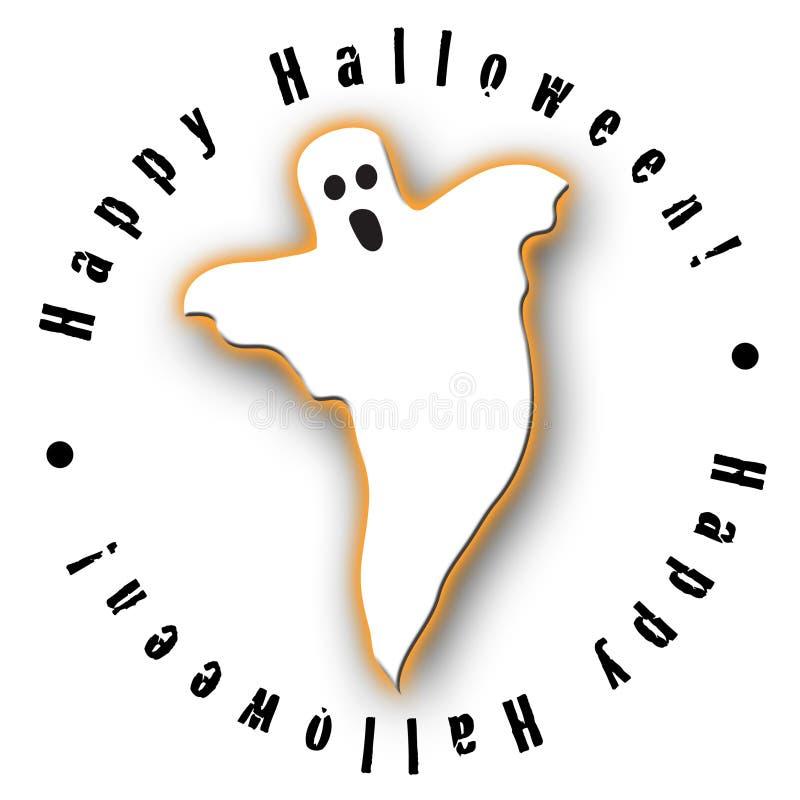 duch Halloween projektu ilustracji