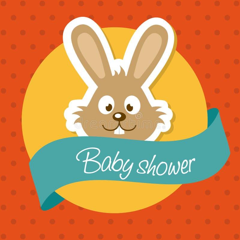 Download Ducha de bebé ilustración del vector. Ilustración de elemento - 42427148
