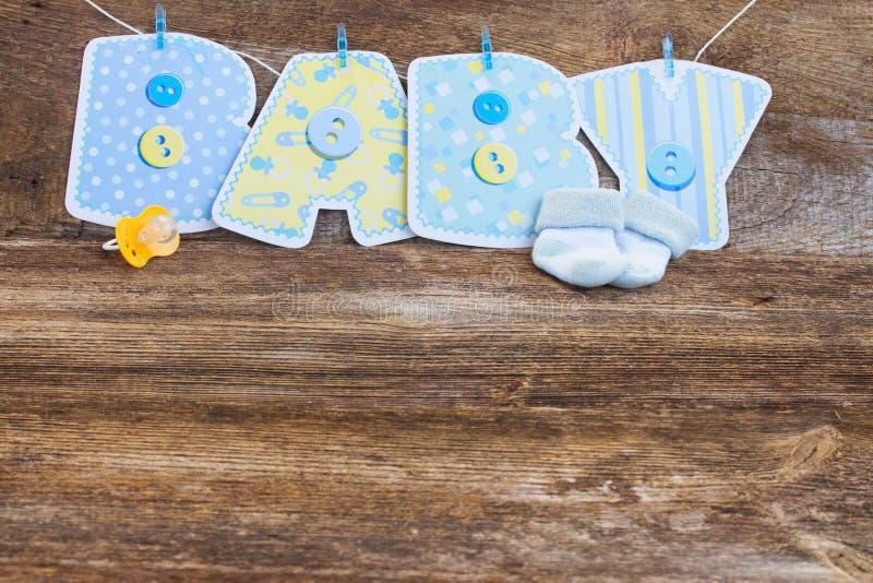 Ducha de bebé fotos de archivo libres de regalías
