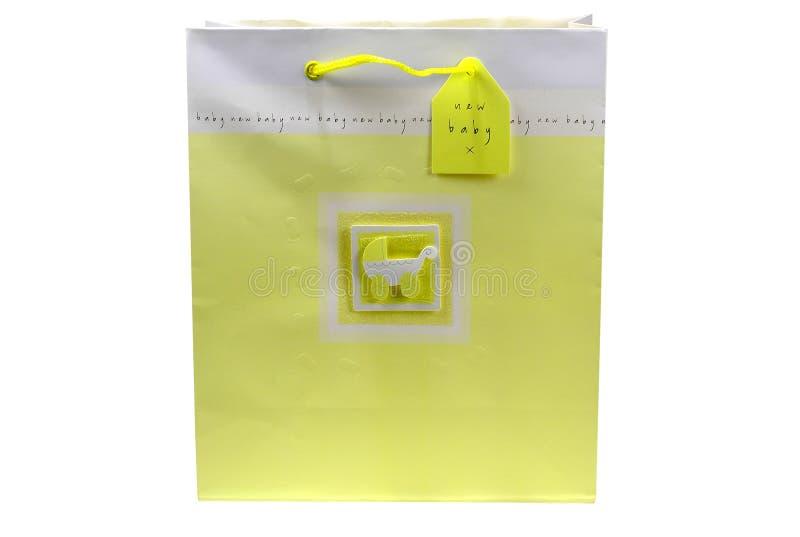 Ducha De Bebé Giftbag Imagenes de archivo