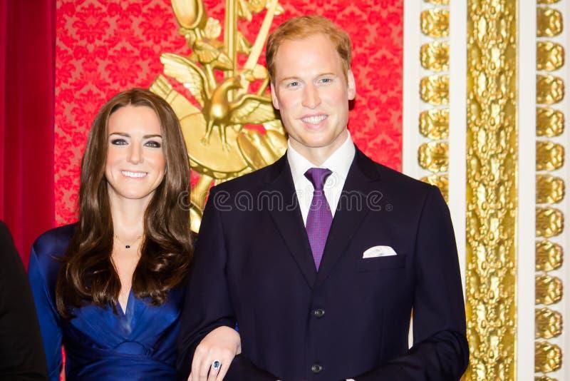 Duchess Cambridge i diuk obrazy royalty free