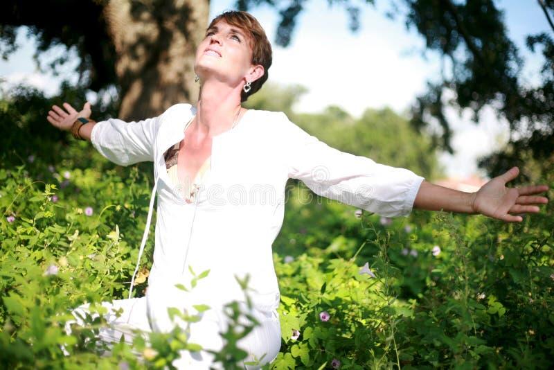 duchowa kobieta obraz stock