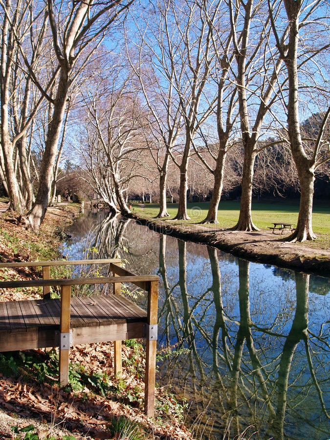 Duchy Park In Uzes, Provence, France Royalty Free Stock Photography