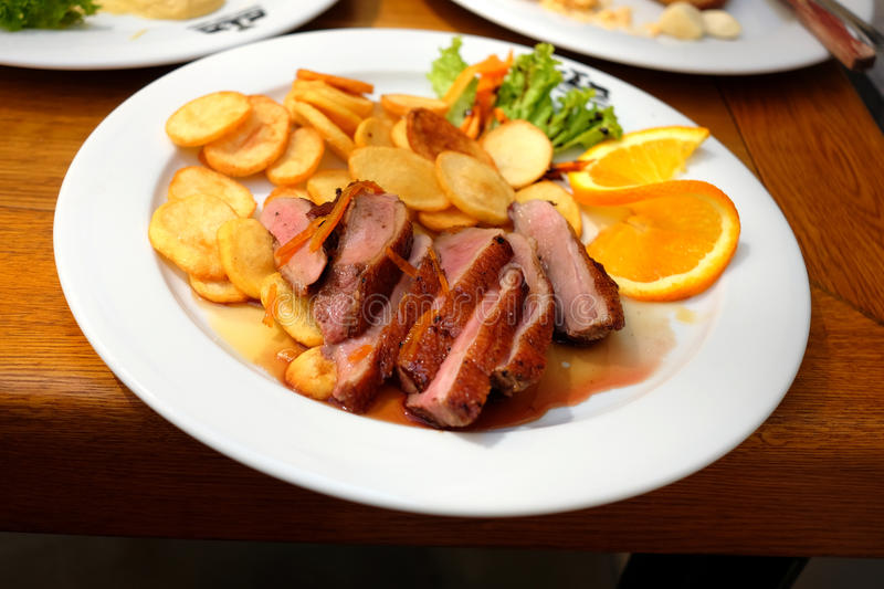 Duck Breast photographie stock