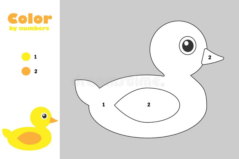 Duck Coloring Stock Illustrations – 1,229 Duck Coloring Stock  Illustrations, Vectors & Clipart - Dreamstime