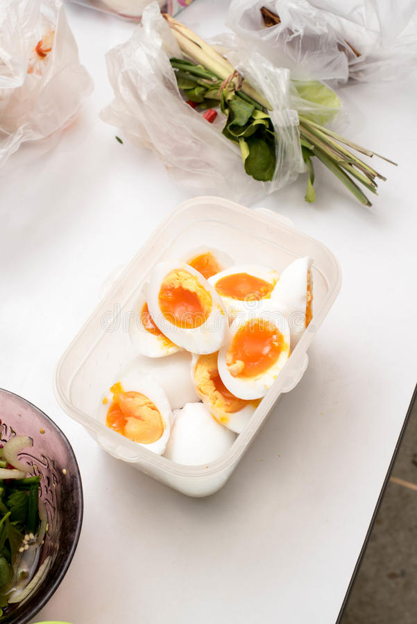 Duck eggs royalty free stock images