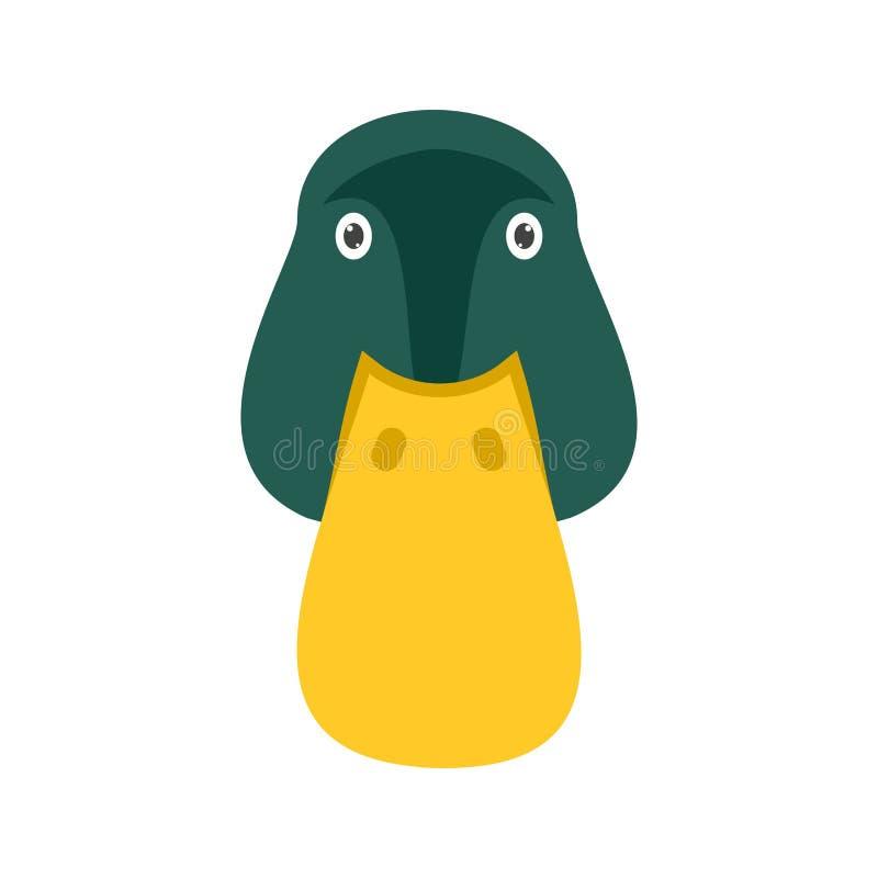 Duck Face royalty-vrije illustratie