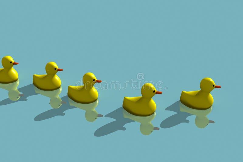 Download Duck family stock illustration. Illustration of funny - 10247262