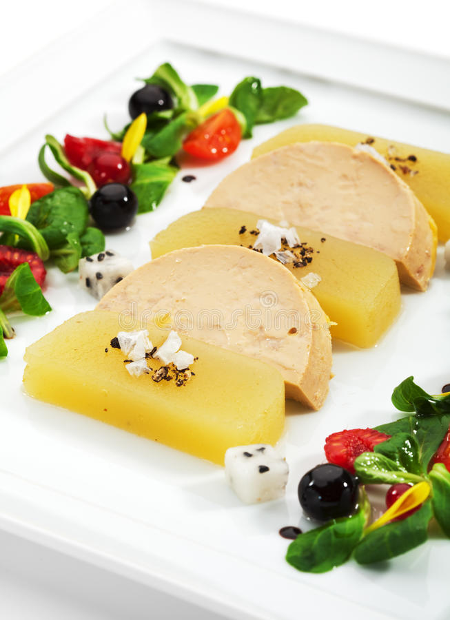 Duck Foie Gras Royalty Free Stock Photos