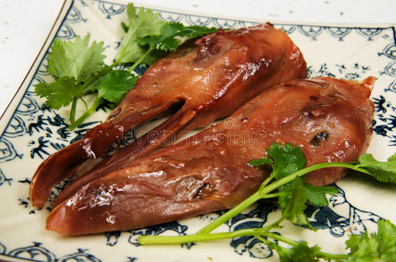 Duck head royalty free stock image