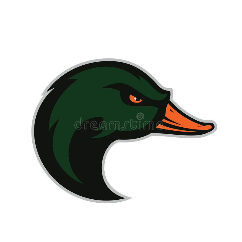 Free Duck Head Mascot Stock Images - 80231194