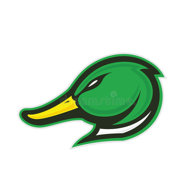 Free Duck Head Mascot Stock Images - 80232844