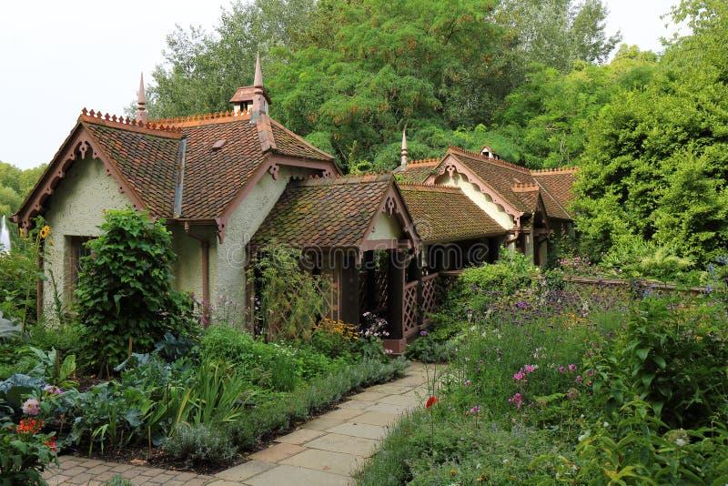 Duck Island Cottage fotos de stock royalty free