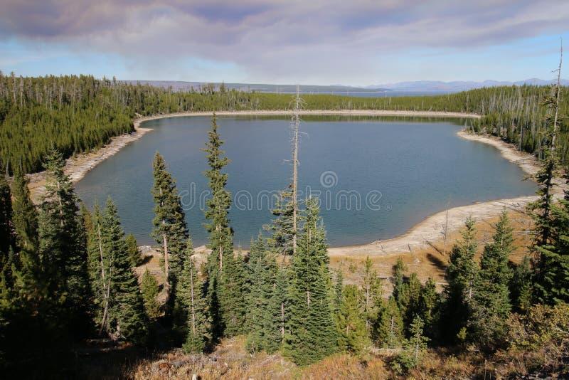 Duck Lake Yellowstone National Park royaltyfria bilder