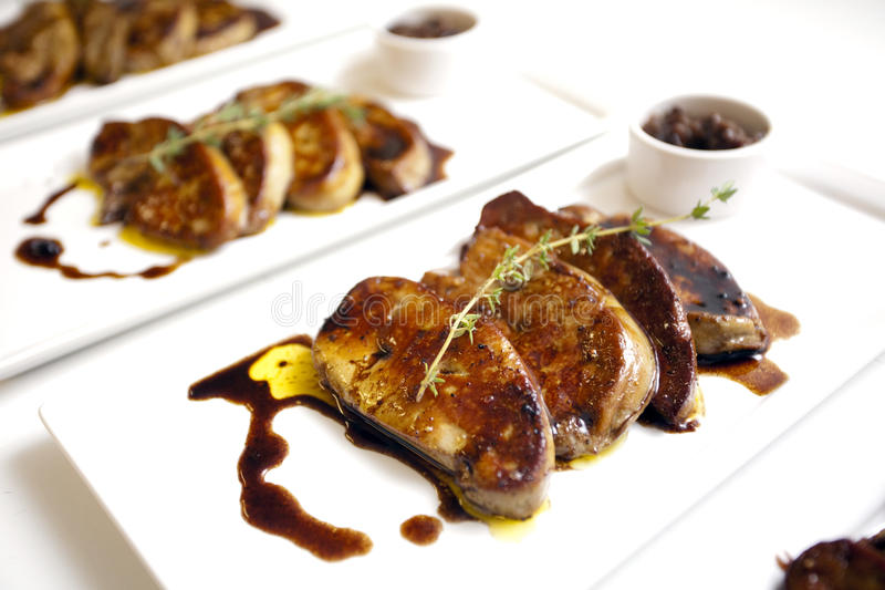 Duck Liver Royalty Free Stock Photos