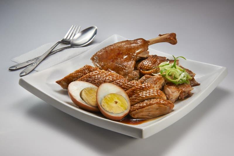 Duck Meat cocido fotografía de archivo