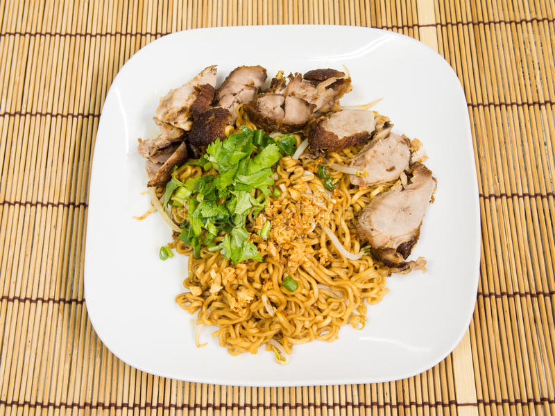 Duck Noodle Royalty Free Stock Photos