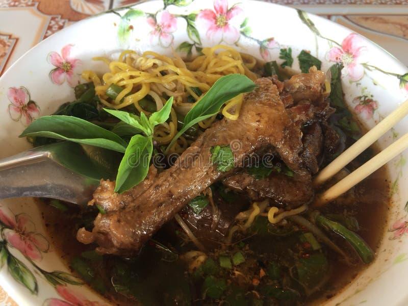 duck noodle stock images