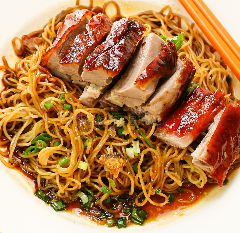Free Duck Noodle. Food Asia Stock Photo - 34703170