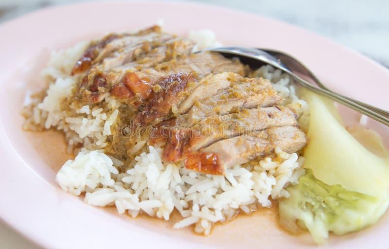 Duck Rice lizenzfreies stockfoto