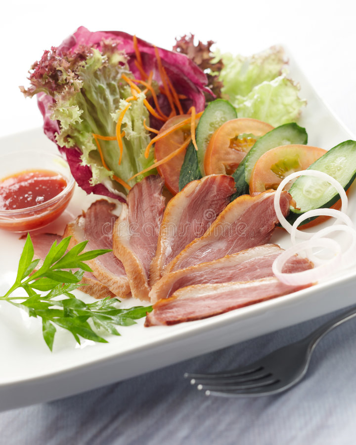Download Duck Salad Stock Photography - Image: 8971392