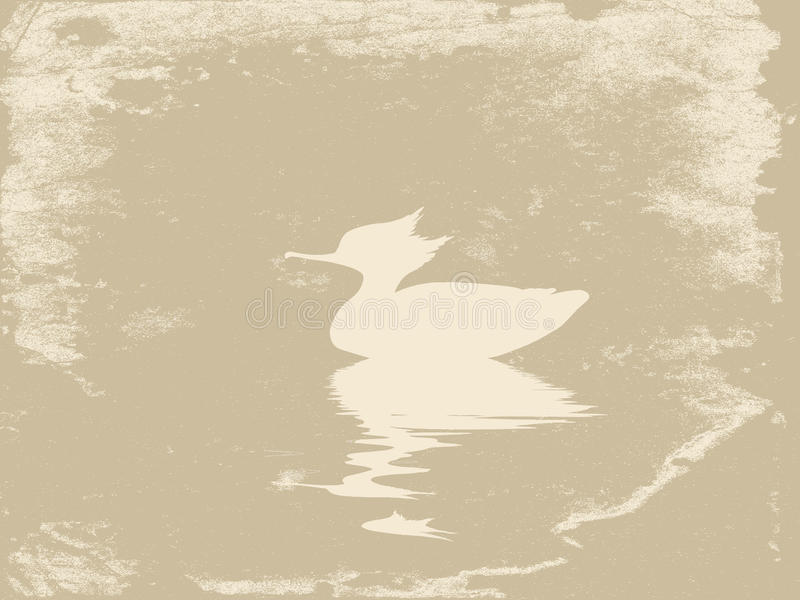 Download Duck in water stock illustration. Image of illustration - 23530042