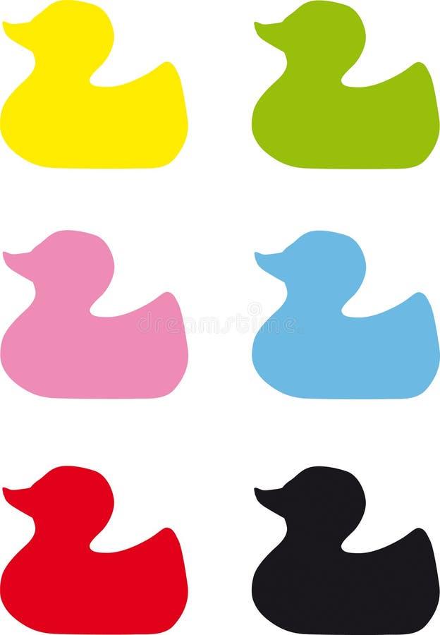 duckies 皇族释放例证