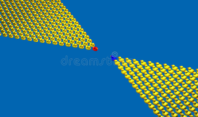 Download Ducks stock illustration. Image of animal, rendering - 13055073