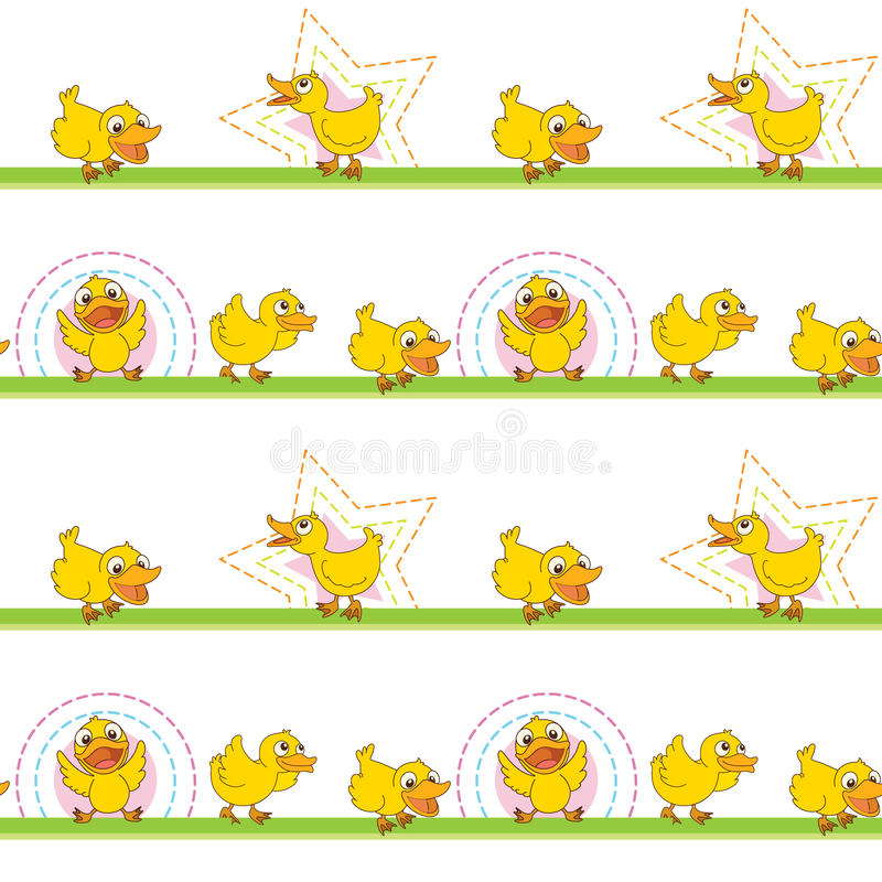 Download Ducks stock illustration. Image of backgrounds, grass - 29373643