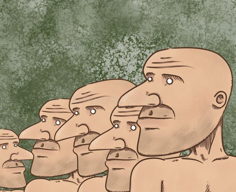 Download Dude stock illustration. Illustration of toys, bald, design - 5871361