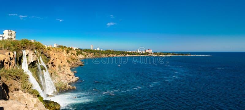 Duden siklawy w Antalya obraz royalty free