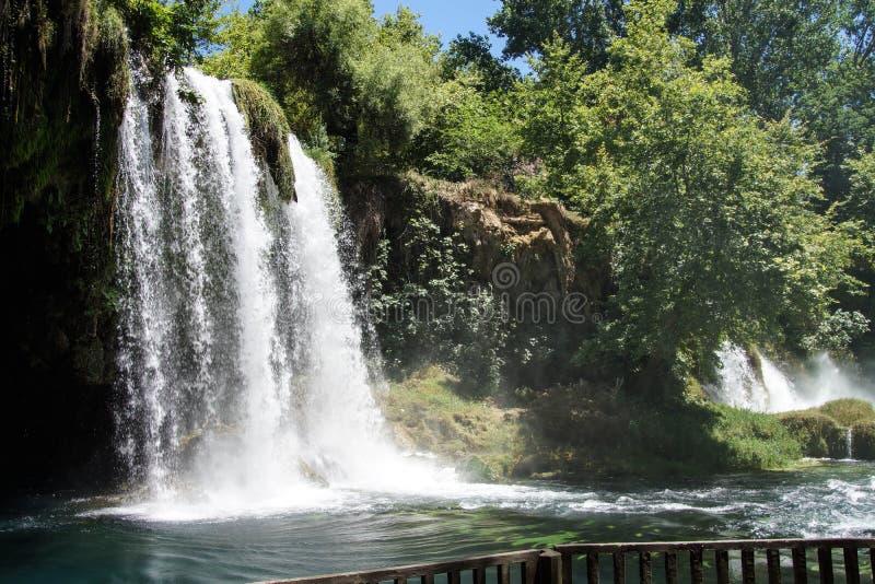 Duden Wasserfälle stockbild
