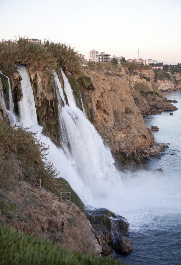 Duden Wasserfälle stockfoto