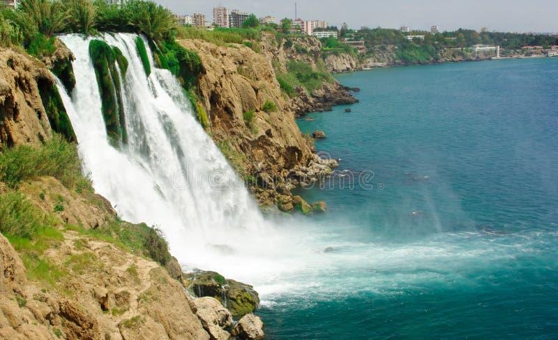 Duden Wasserfall stockbilder