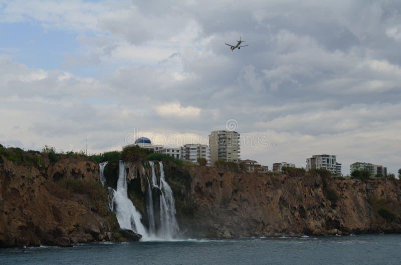 Duden Wasserfall in Antalya stockfoto